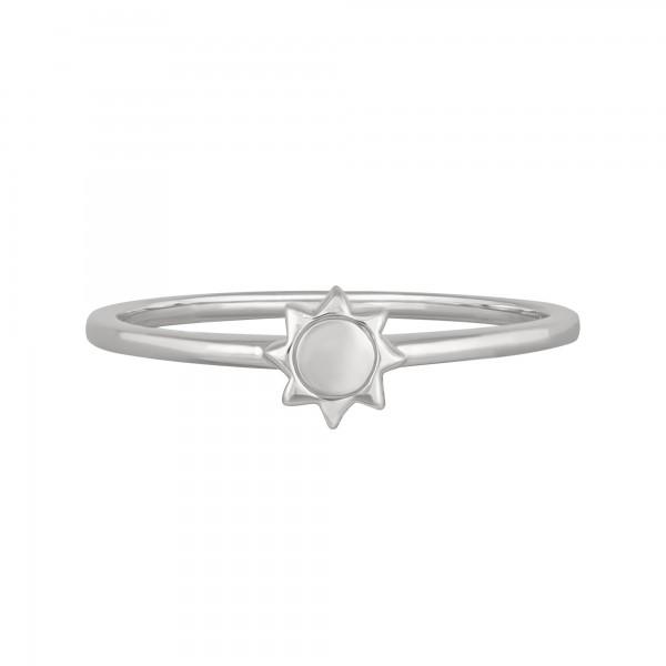 cai Ring 925/- Sterling Silber rhodiniert Sonne