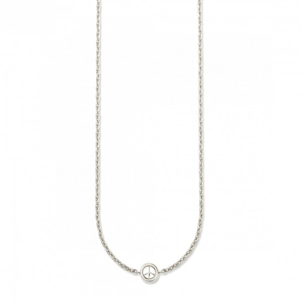 cai Collier 925/- Sterling Silber rhodiniert Peace