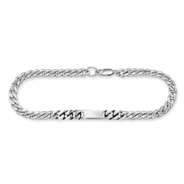 cai 925/- Sterling Silber rhodiniert 19cm Armband