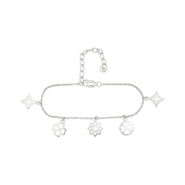 cai Armband 925 Silber rhodiniert Anhänger