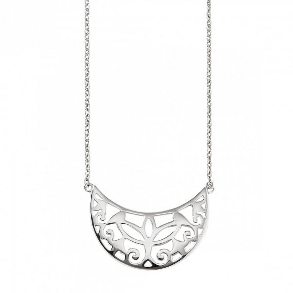 cai Collier 925/- Sterling Silber rhodiniert Ornamente