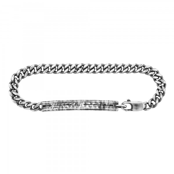 cai Armband 925/- Sterling Silber oxidiert Pfeil 21cm