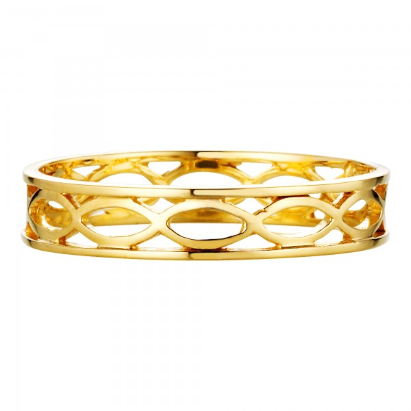 cai Ring 925/- Sterling Silber vergoldet