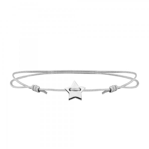 cai Armband 925/- Sterling Silber rhodiniert Stern
