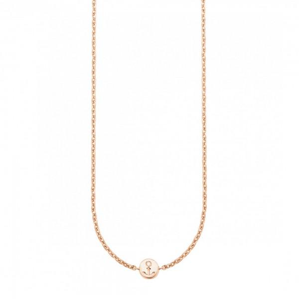 cai Collier 925/- Sterling Silber rotvergoldet Anker