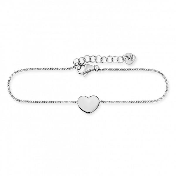 cai Armband 925/- Sterling Silber rhodiniert Herz