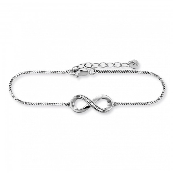 cai Armband 925/- Sterling Silber Topas Infinity
