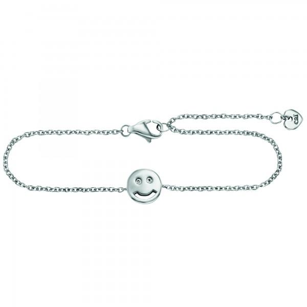 cai Armband 925/- Sterling Silber Zirkonia Emoji