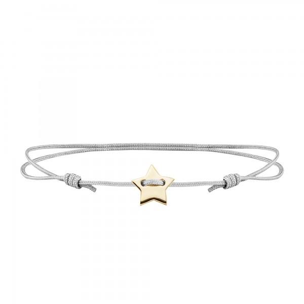 cai Armband 925/- Sterling Silber vergoldet Stern
