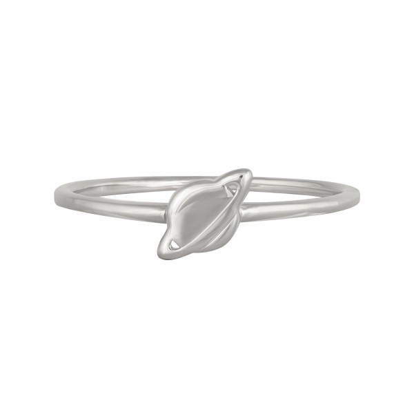cai 925/- Sterling Silber rhodiniert Planet Saturn Ring