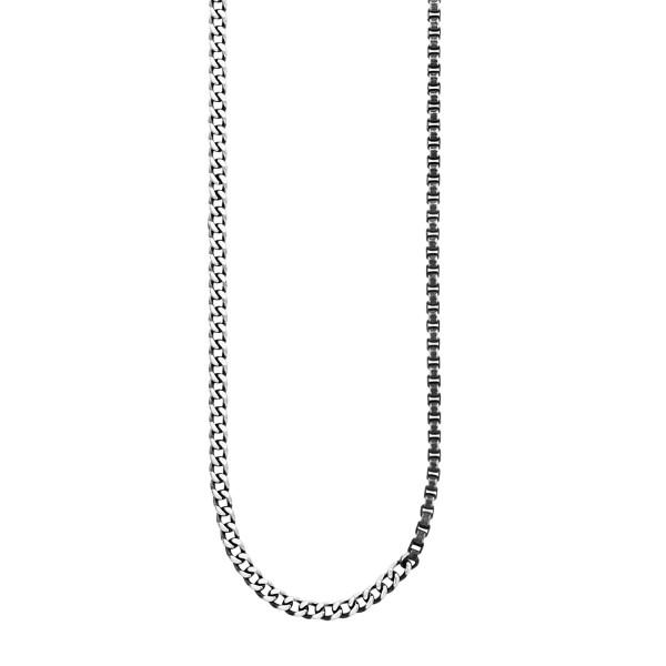 cai Collier 925/- Sterling Silber rhodiniert Kettenmix