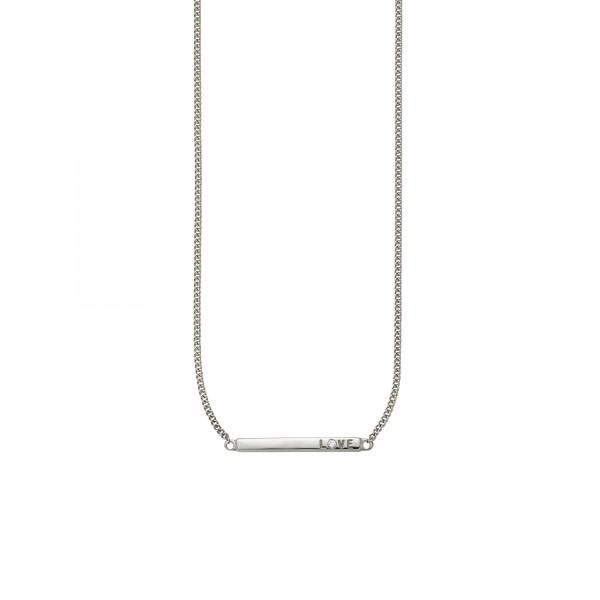 cai Collier 925/- Sterling Silber rhodiniert Zirkonia
