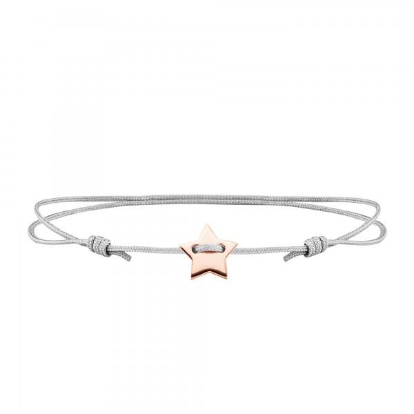 cai Armband 925/- Sterling Silber rotvergoldet Stern