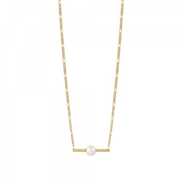 cai Collier 925/- Sterling Silber vergoldet Perle