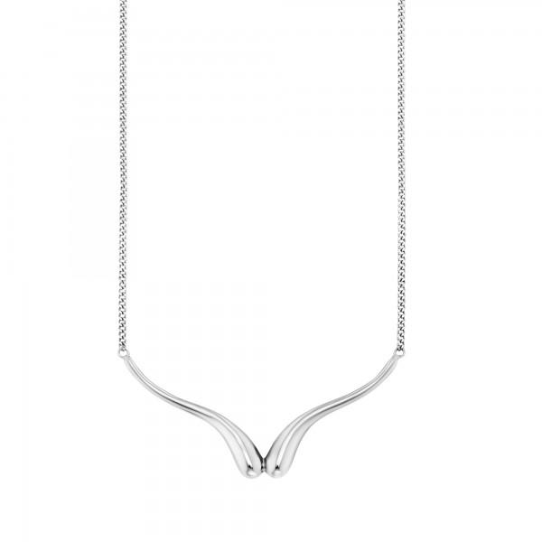 cai Collier 925/- Sterling Silber rhodiniert Tropfen