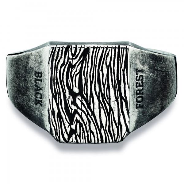 cai Ring 925/- Sterling Silber oxidiert schwarz