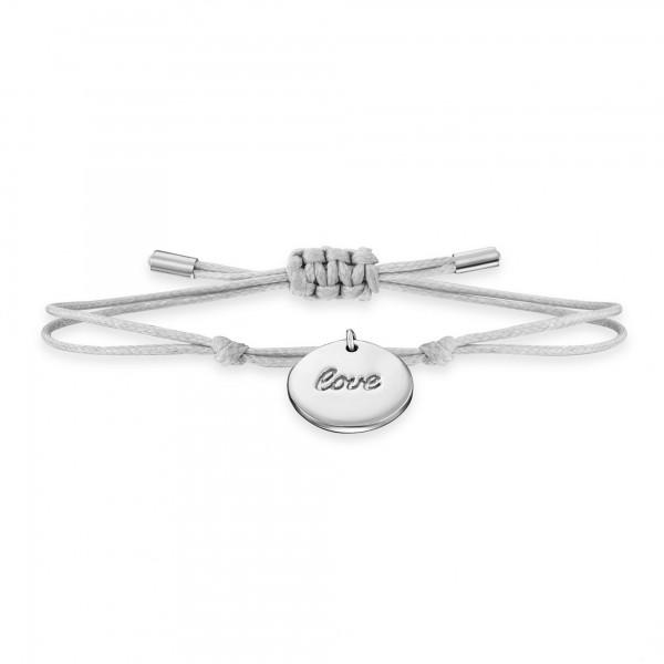 cai Armband 925/- Sterling Silber rhodiniert LOVE