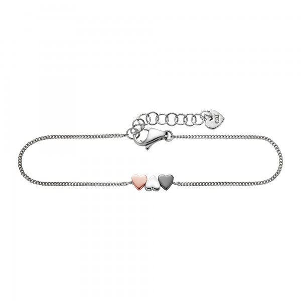 cai Armband 925/- Sterling Silber Herz