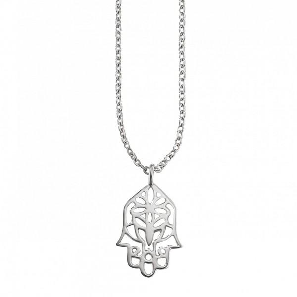 cai Anhänger mit Kette 925/- Sterling Silber rhodiniert Ornamente