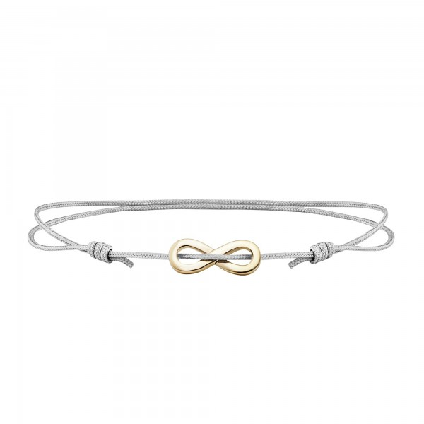 cai Armband 925/- Sterling Silber vergoldet Infinity