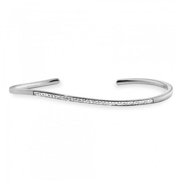 cai Armband 925/- Sterling Silber rhodiniert Topas