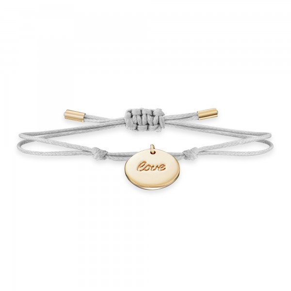 cai Armband 925/- Sterling Silber vergoldet LOVE