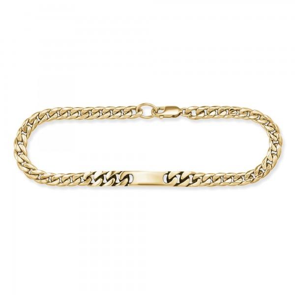 cai Armband 925/- Sterling Silber vergoldet 21cm