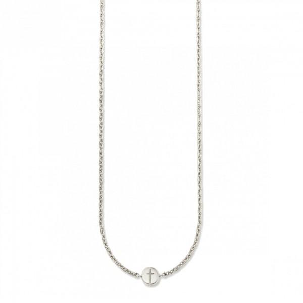 cai Collier 925/- Sterling Silber rhodiniert Kreuz