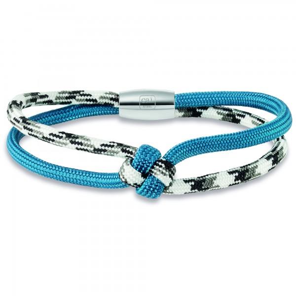 cai Armband Nylon-Band mit Magnetverschluss 20cm