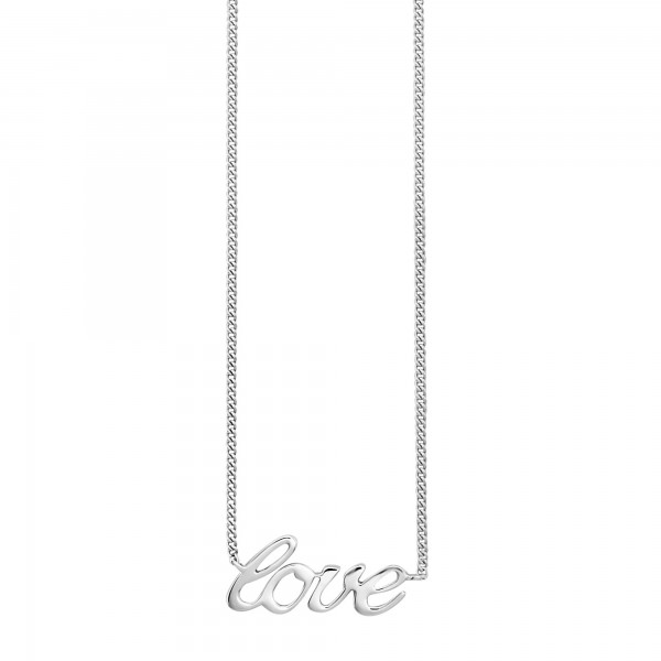 cai Collier 925/- Sterling Silber rhodiniert LOVE