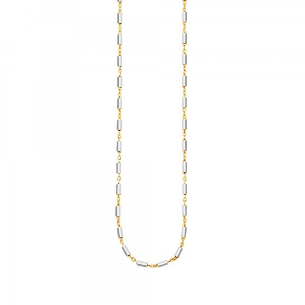 cai Collier 925 Silber zweifarbig 45cm