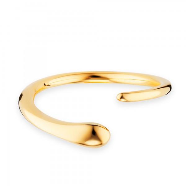 cai Ring 925/- Sterling Silber vergoldet geschwungen