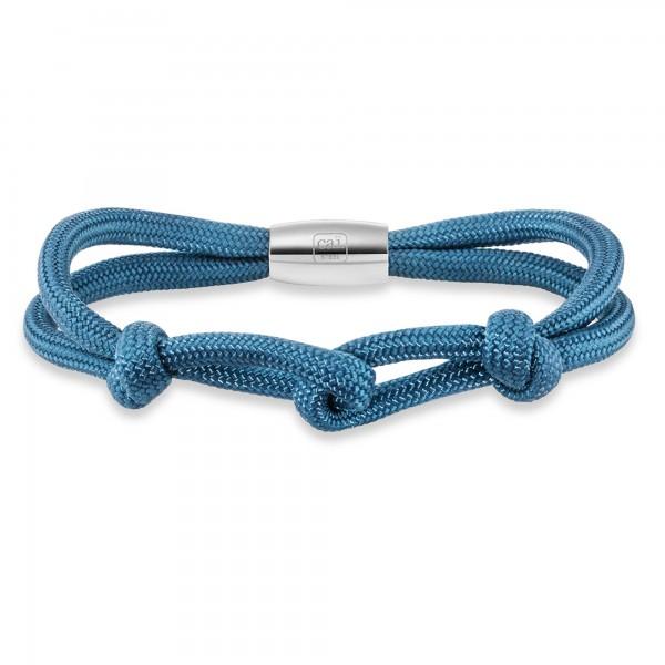 cai Armband Nylonband Edelstahlschließe 23cm