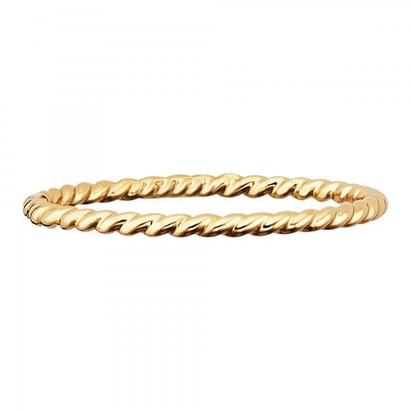 cai 925/- Sterling Silber gelb vergoldet poliert Ring