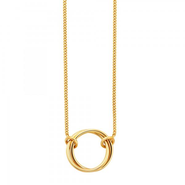 cai Collier 925/-Sterling Silber vergoldet Ringe