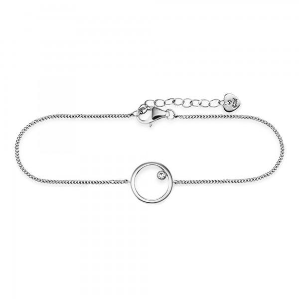 cai Armband 925/- Sterling Silber Kreis Zirkonia