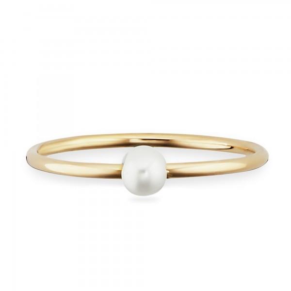 cai Ring 925/- Sterling Silber vergoldet Perle