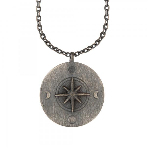 cai Element Erde 925/- Sterling Silber oxidiert Halskette