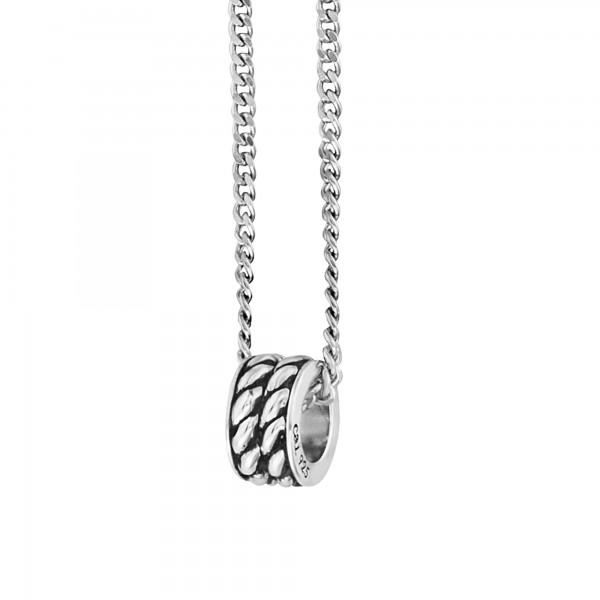 cai Anhänger mit Kette 925/- Sterling Silber rhodiniert Ring