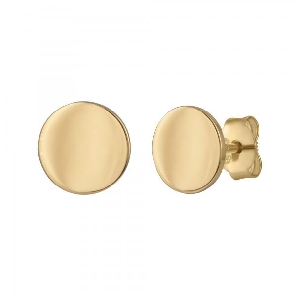 cai Ohrstecker 925/- Sterling Silber vergoldet Boho