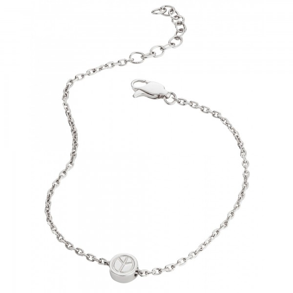 cai Armband 925/- Sterling Silber rhodiniert Peace